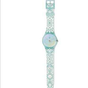 Blue Snowflake Swatch